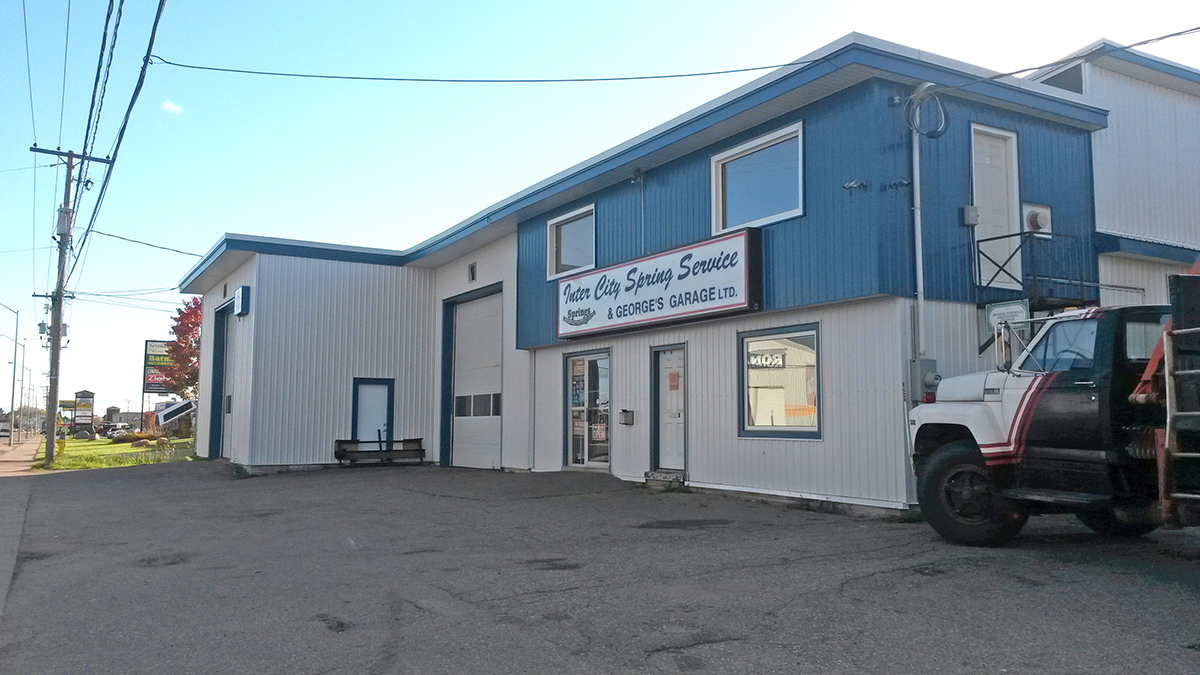 Our building, at 117 Black Rd.